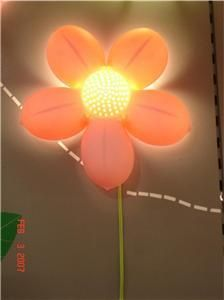 Ikea smila blomma wall lamp pink flower night light big girl ikea flower wall lamp perfect for fairy garden mozeypictures Choice Image