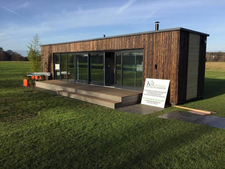 ireland s first shipping container home was built in just. Black Bedroom Furniture Sets. Home Design Ideas
