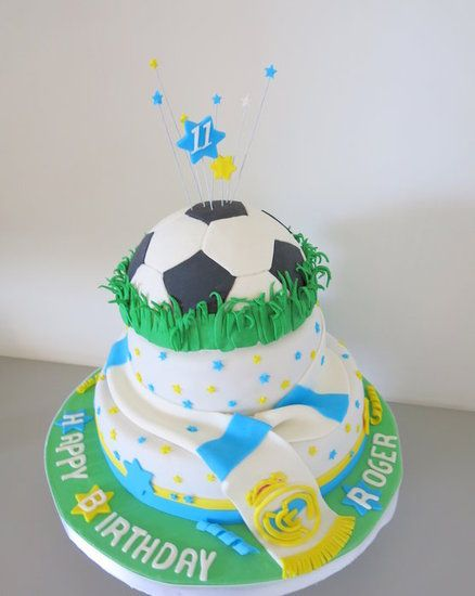 Real Madrid cake - by Sugar by NA @ CakesDecor.com - cake decorating website
