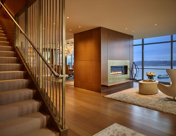 Private Penthouse | NB Design Group, Inc | Architect : Stillwell Hanson  Architects | Contractor