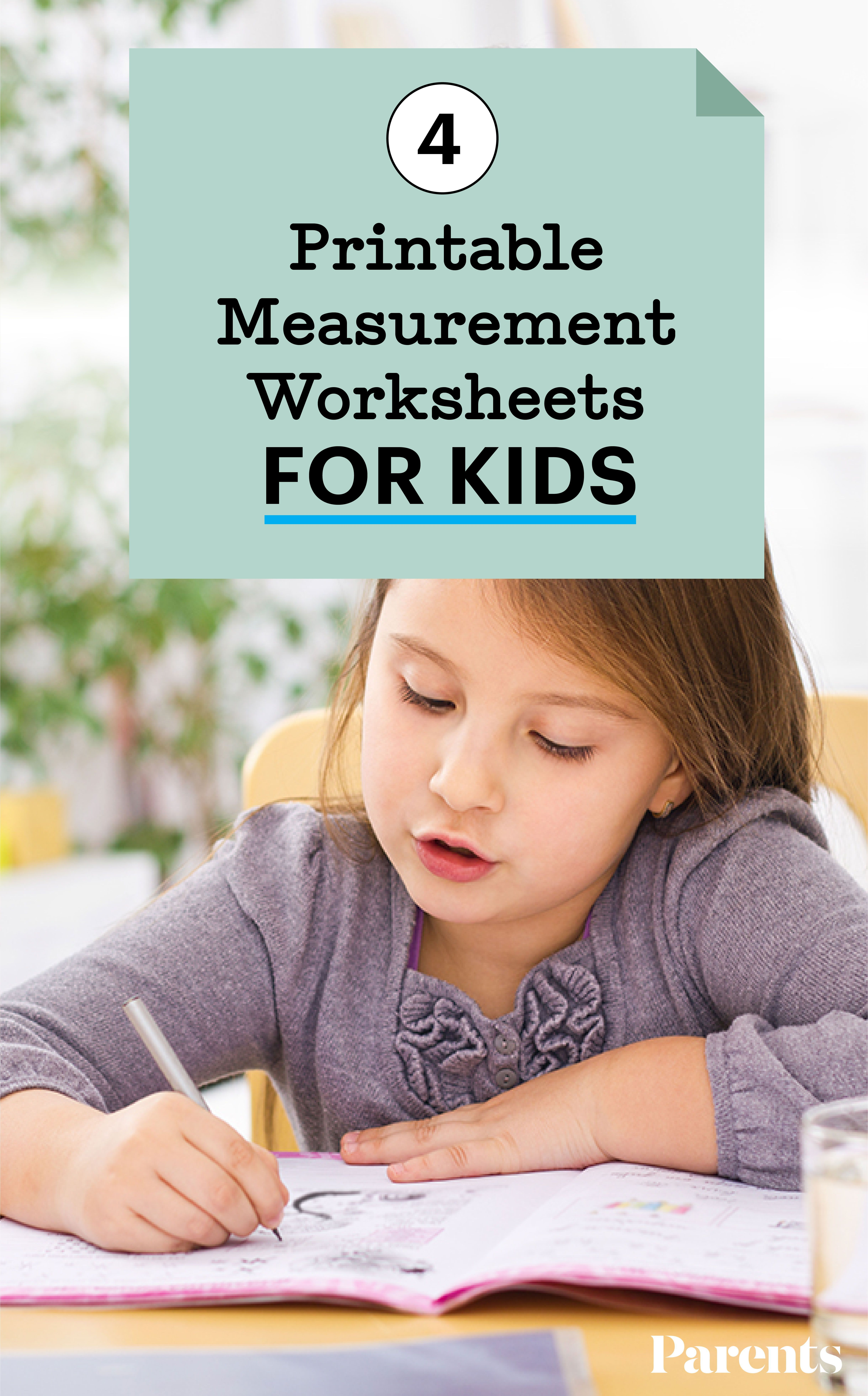 4 Printable Measurement Worksheets For Kids In