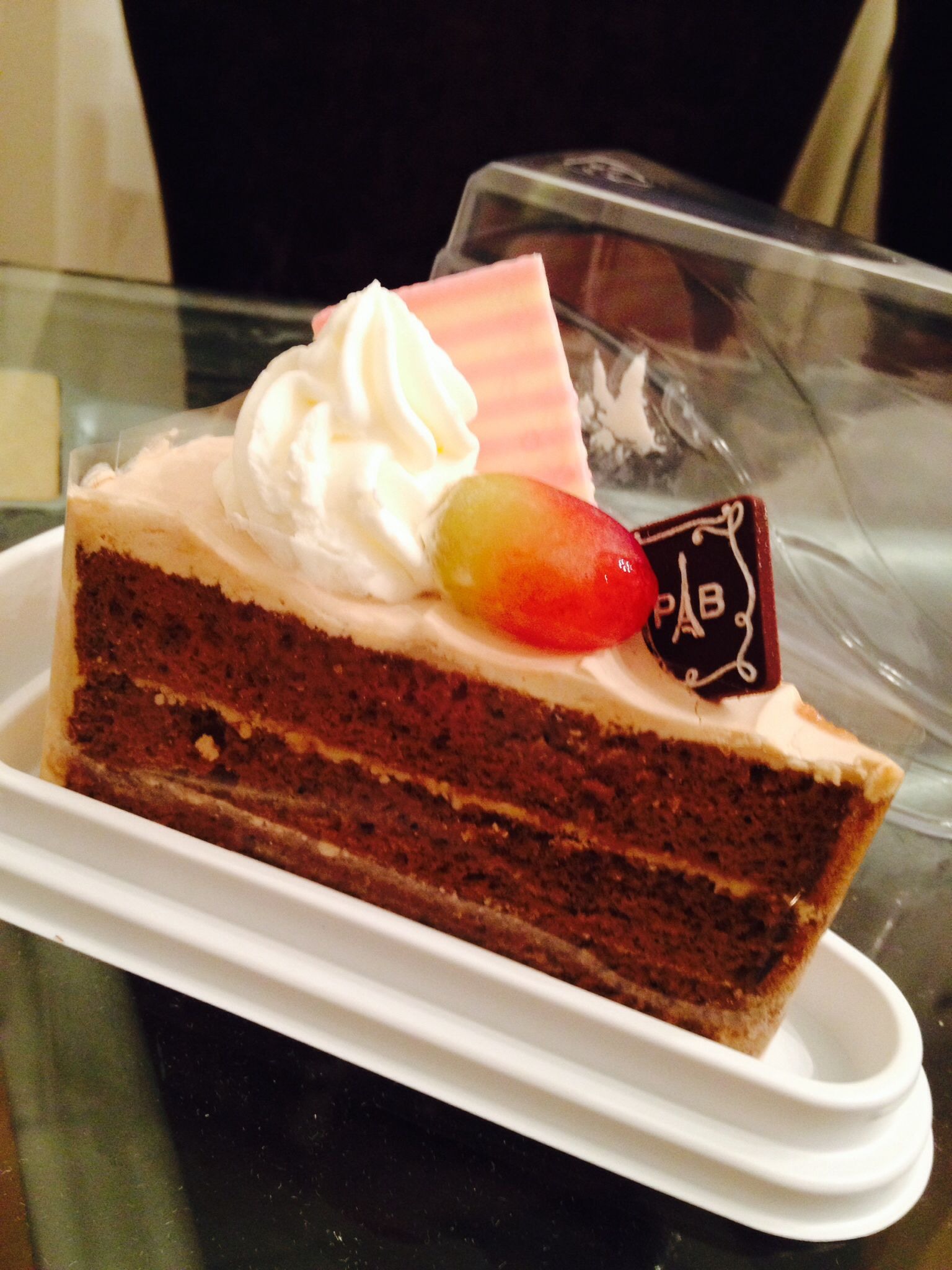 Dessert paris baguette mocha cake mit bildern