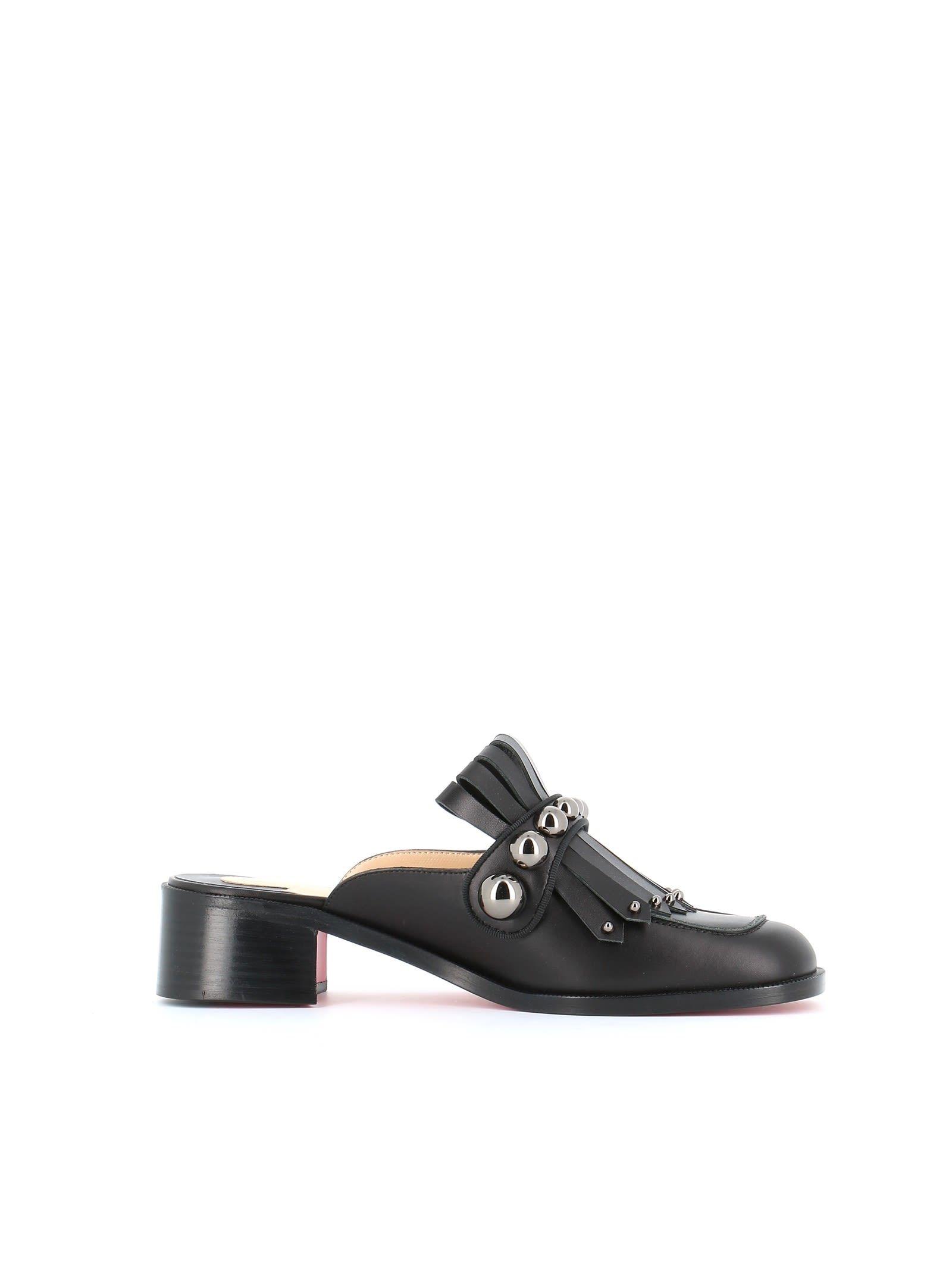 bc1d36d964b8 CHRISTIAN LOUBOUTIN OCTAVIAN MULA 35 SLIP-OP.  christianlouboutin  shoes