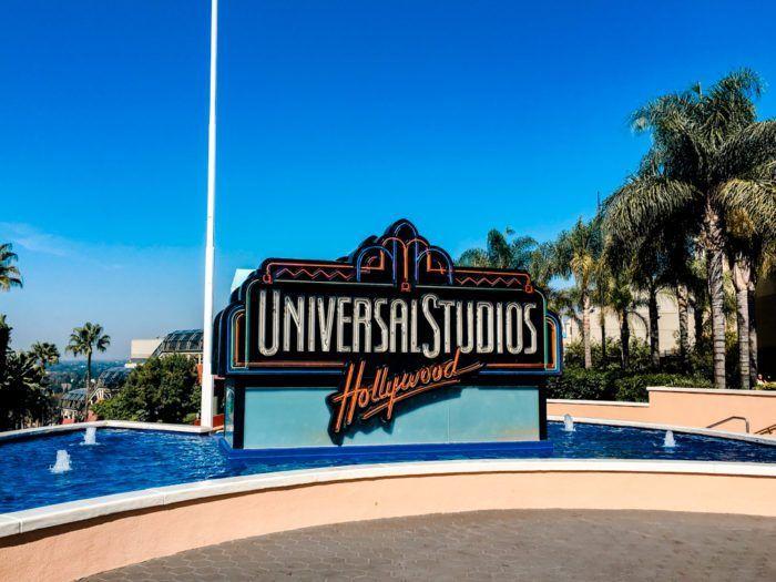 The sign of Universal Studios Hollywood. #losangelesfall #autumn #losangeles #californiatravel