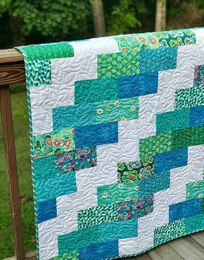 A Super Easy Quilt That Finishes Quickly - Quilting Digest