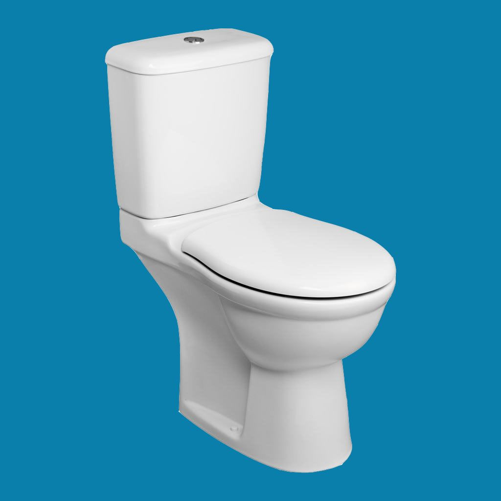 Ideal Standard Alto Toilet Seat and Cover With Stainless Steel ...
