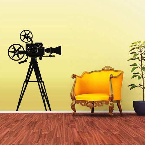 Wall Decal Vinyl Sticker Decals Photo Professional Camera