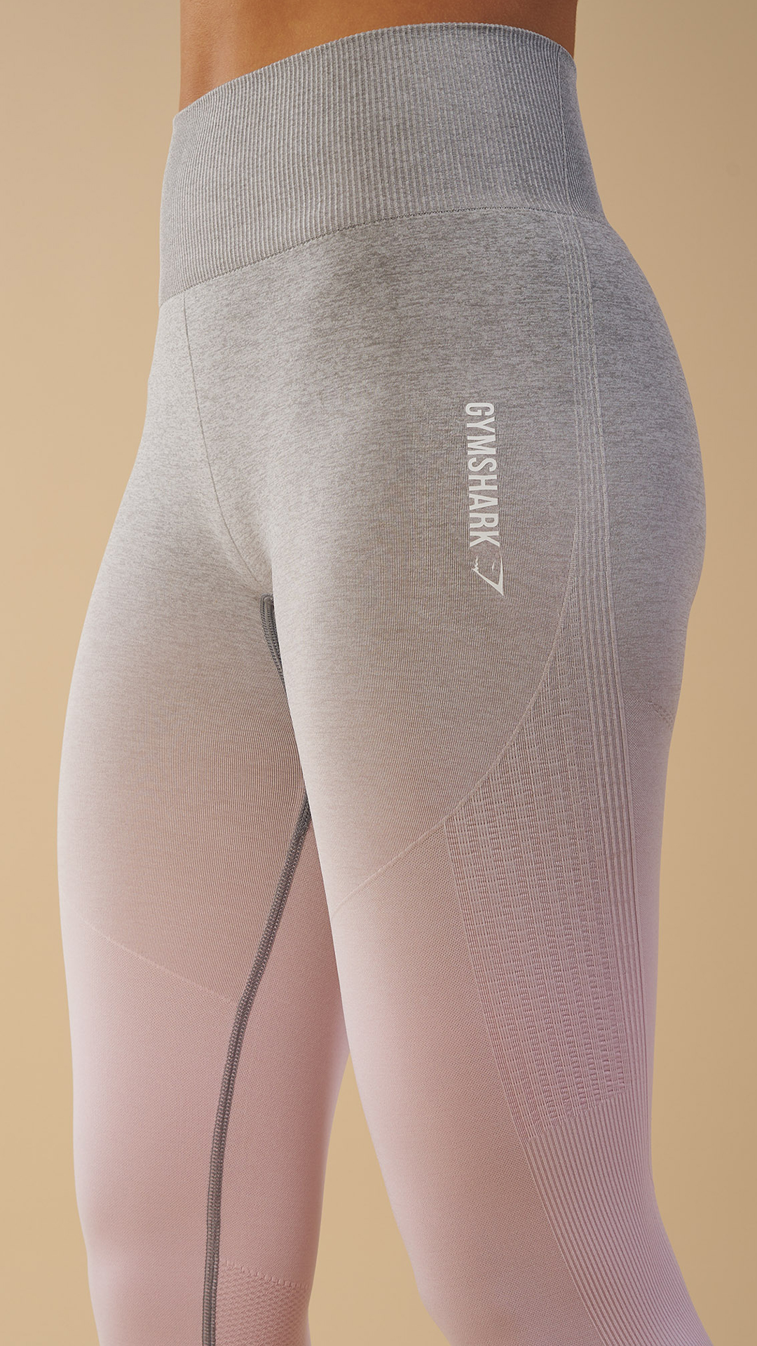 52f66760bd773 The Gymshark Ombre Seamless Leggings are perfect for both cardio and weight  training, due to its durable stretch fabric providing a close, yet  comfortable ...