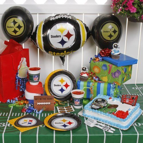 Nfl pittsburgh steelers birthday party kit 96 piece by tnt 2999 nfl pittsburgh steelers birthday party kit 96 piece by tnt 2999 filmwisefo Gallery