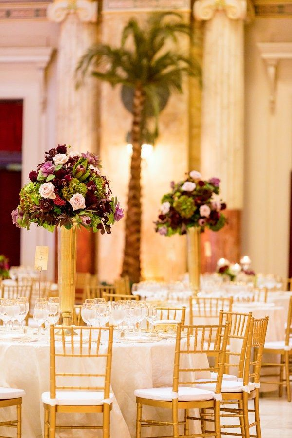 Luxurious Dc Union Station Wedding Union Station Reception And