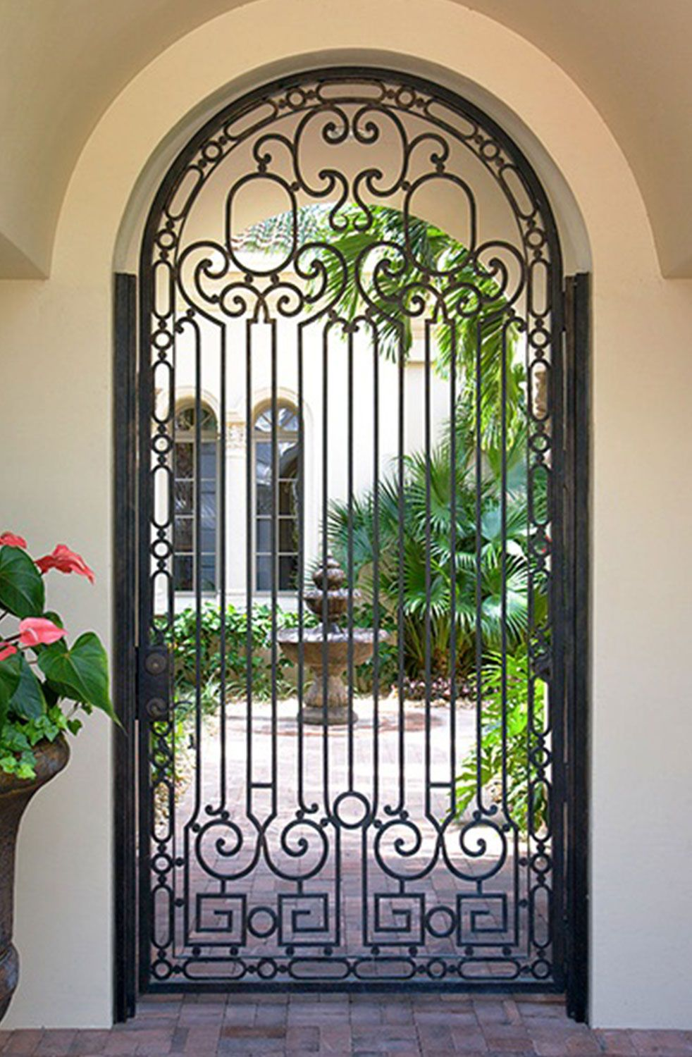 Cantera Doors Provides Hand Forged Custom Made Iron Staircase Balcony Railings For Your Home In Texas Flo Wrought Iron Doors Iron Doors Wrought Iron Gates