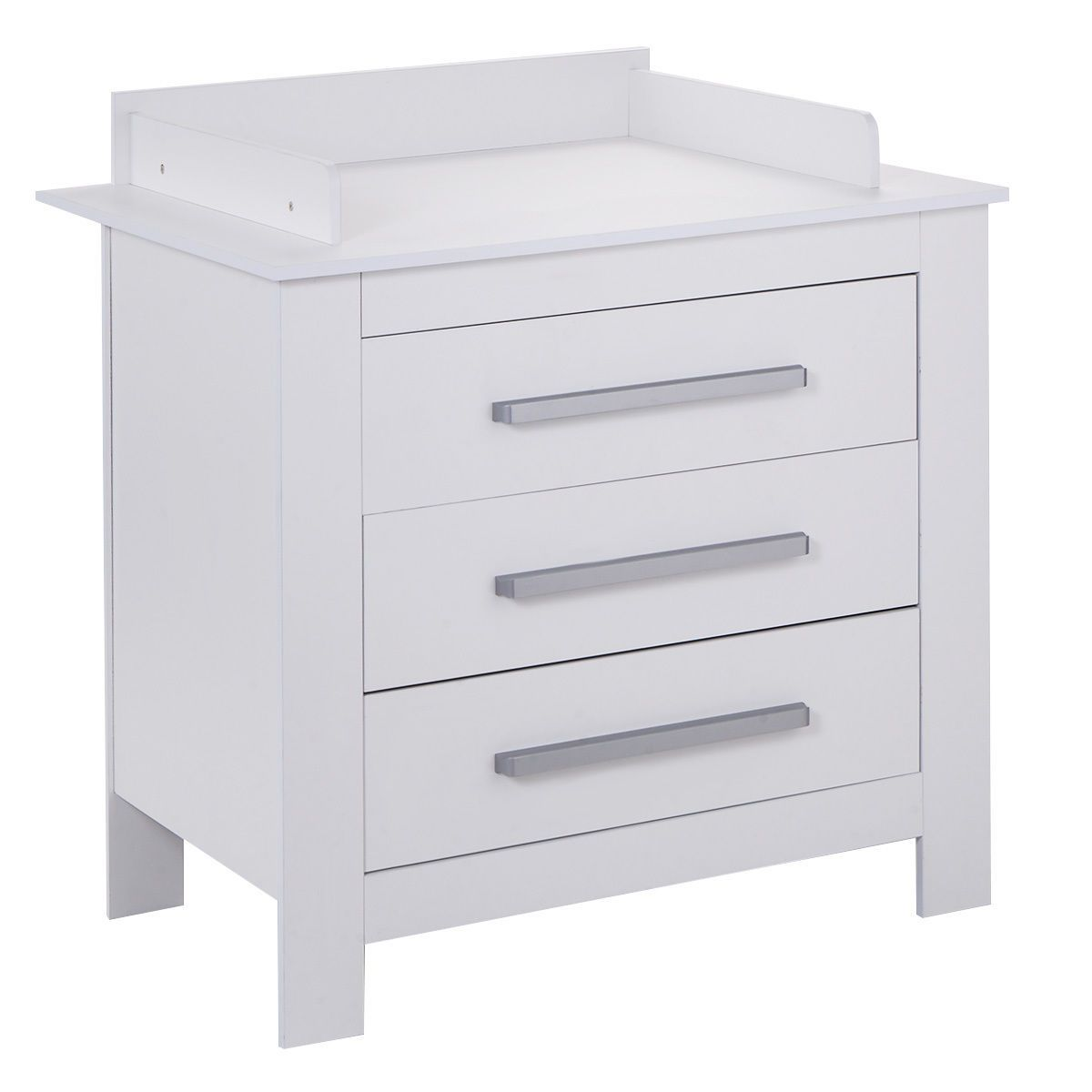 White Changing Table Dresser Infant Baby Nursery Diaper Station ...