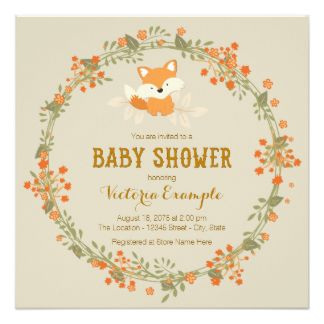 Free Printable Woodland Baby Shower Invitations Baby Shower