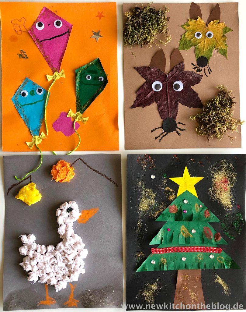 DIY-Kalender mit Kindern basteln Meine Kinderbespaßung