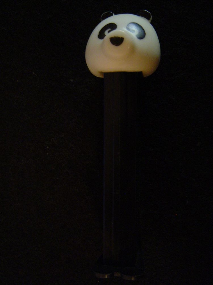 Details about panda pez dispenser with feet made in