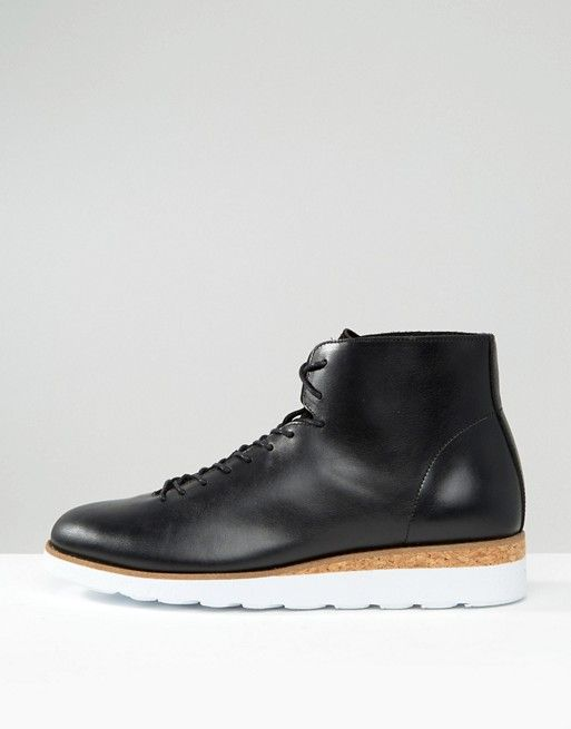 Zign | Zign Leather Lace Up Boots