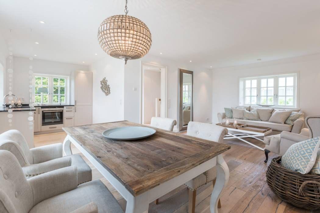Home Staging Reetdachhaus Auf Sylt: Landhausstil Esszimmer Von Immofoto Sylt