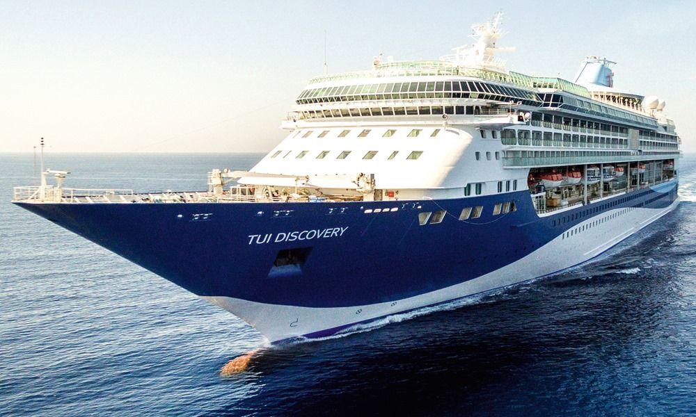 The Malteseregistered cruise ship Marella Discovery