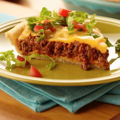 100+ Taco Pie Recipes on Pinterest | Easy meat pie recipe, Taco pie ...