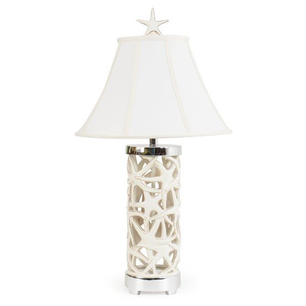 Youll love the overlapping starfish 32 5 table lamp at wayfair great deals