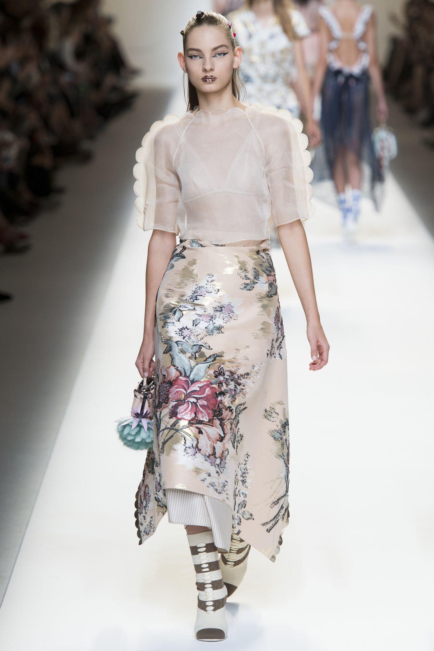 Défilé Fendi  Printemps-été 2017   Fashion, how I love thee ... b21cf06df40