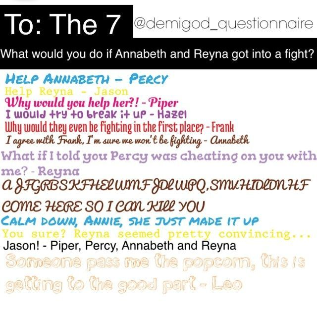 Instagram Photo By Demigod Questionnaire Ask The Seven