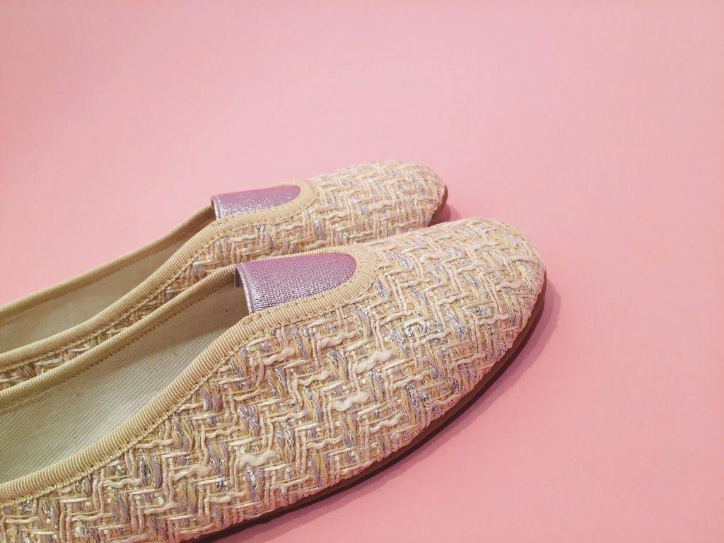 Via Gioia Paris, créateur de chaussons de ville d'exception, Shoes, Slippers, tweed