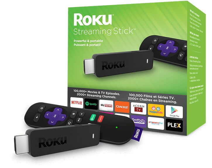 Roku Streaming Stick What's in the box? Streaming stick