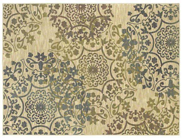 AreaRug Almeria - 3VE57 - Beige - Flooring by Shaw