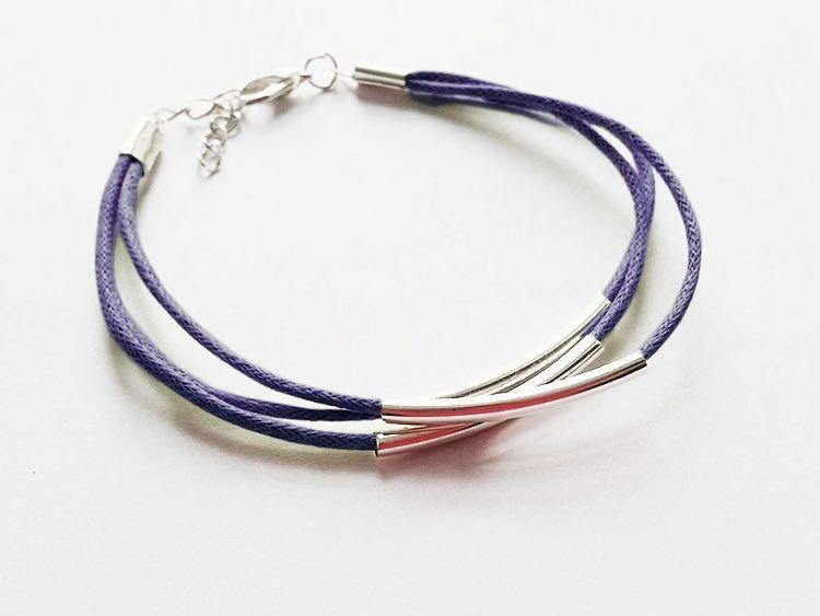 tutoriel diy faire un bracelet de perles tubes et cordons via handmade schmuck