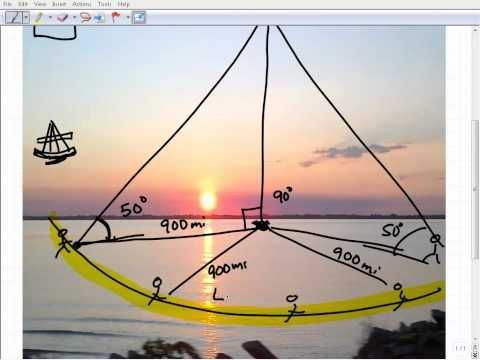 Celestial Navigation Math - YouTube   Sail Boats in 2019   Boat