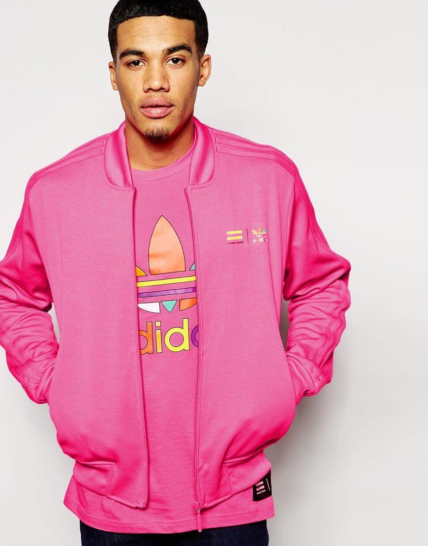 Adidas Originals X Pharrell Williams Supercolour Solar Pink At Asos Com Mens Sweatshirts Hoodie Hoodies Men Sweatshirts Hoodie [ 1110 x 870 Pixel ]