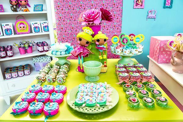 LalaLoopsy Themed Birthday Party Gorgeous Treats