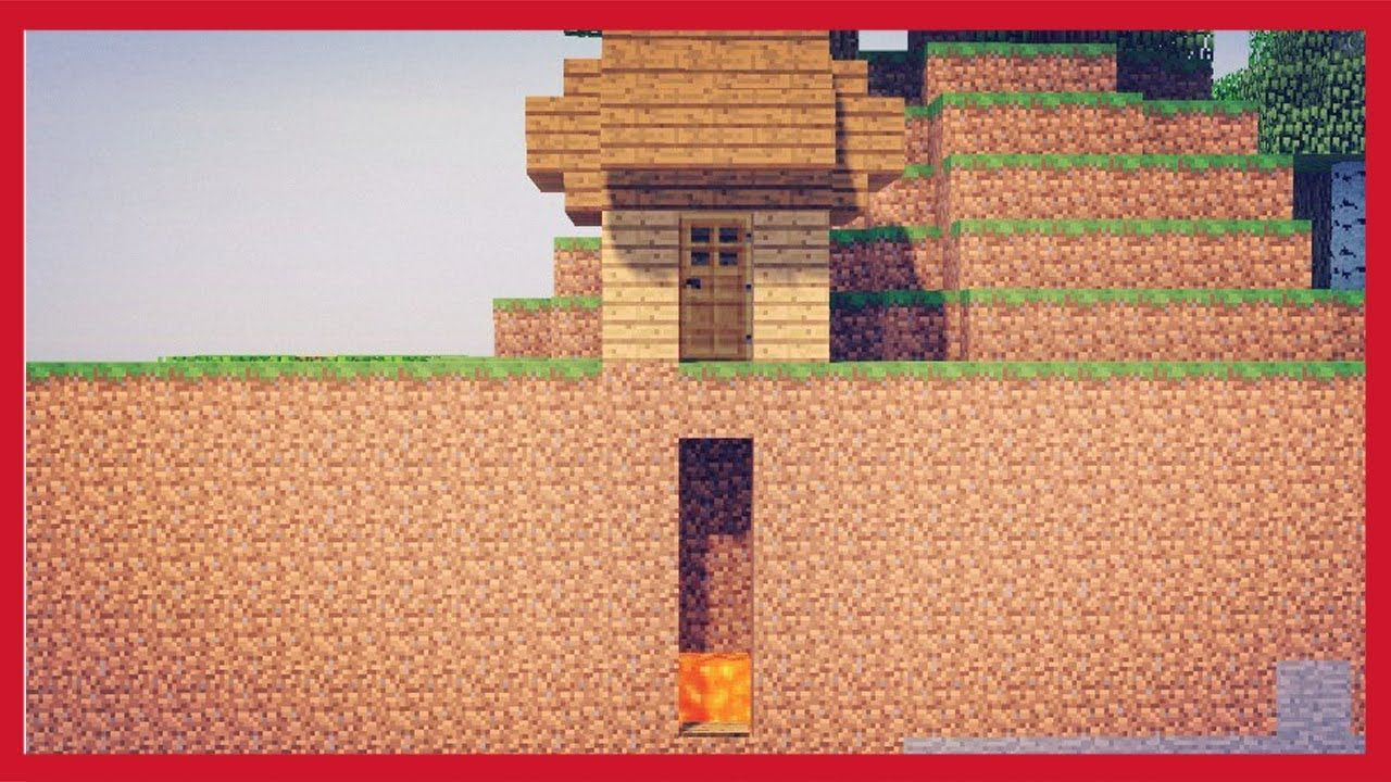 Come Fare Camino Su Minecraft Minecraft Come Fare Una Trappola A Caduta Tutorial Minecraft