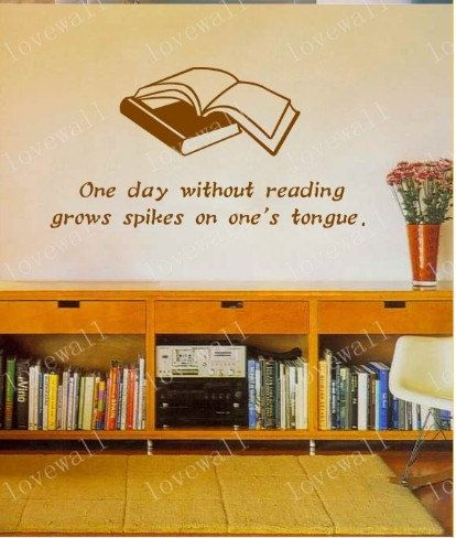 Study Room Wall Decal Two Books With Words Word Book By Aimilyshop - Vinyl wall decals books