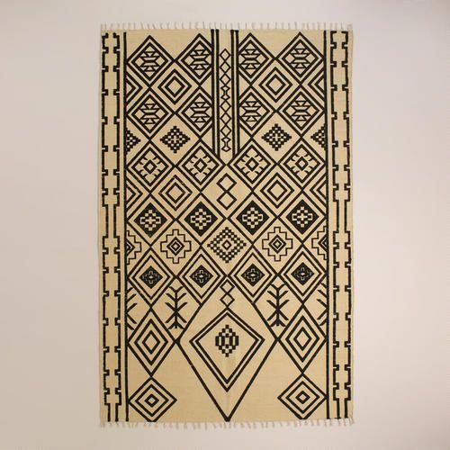Zuri Graphic Print Jute Area Rug At Cost Plus World Market Home Decor Rugs Tips Tricks