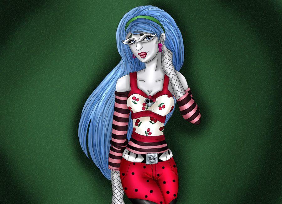 Ghoulia Yelps by kotalee.deviantart.com on @deviantART