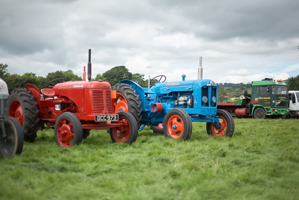 Alle Größen | Tractors at the Merioneth County Show | Flickr - Fotosharing!