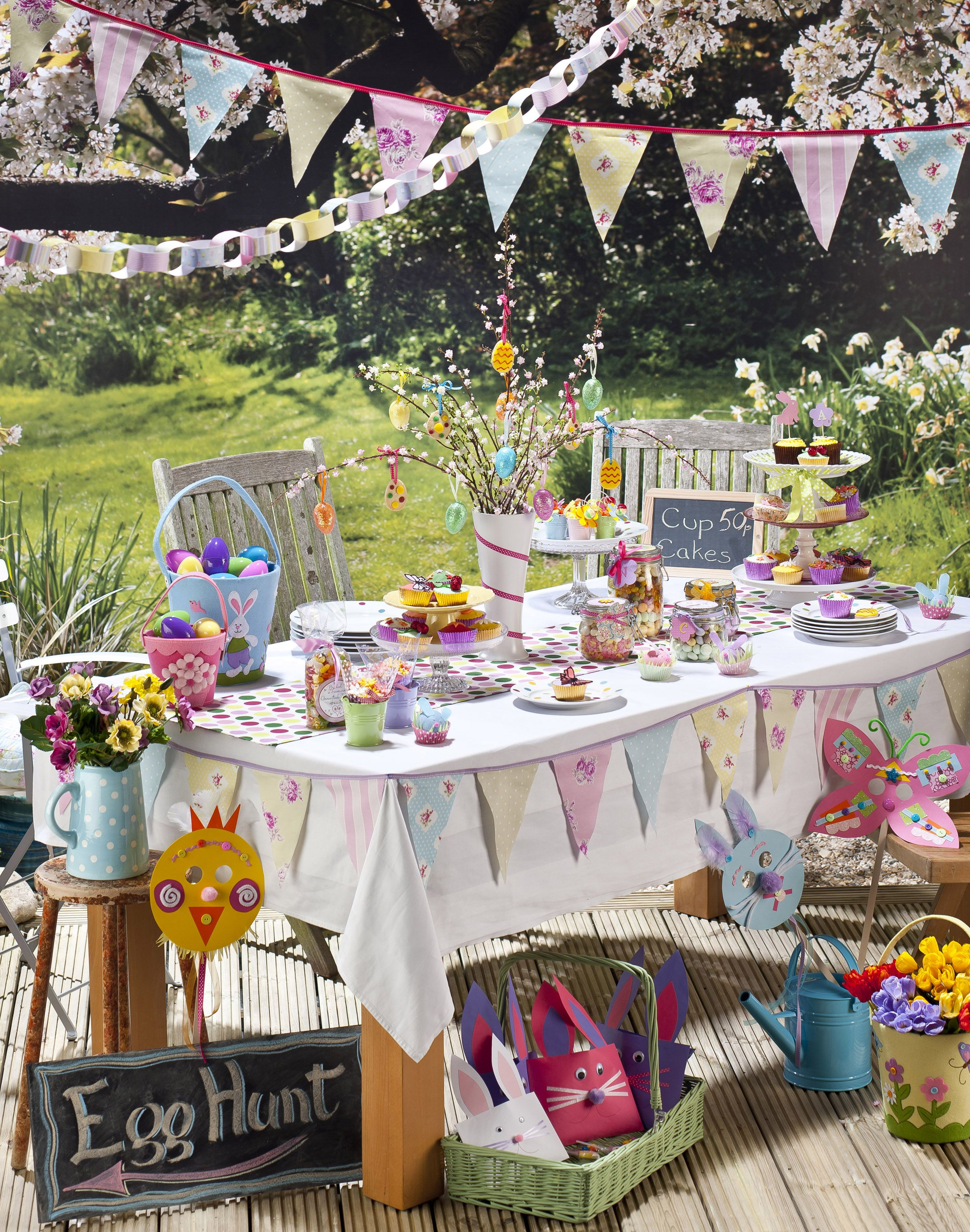 Easter decoration outdoor - Decoration Easter Party Table Decorations