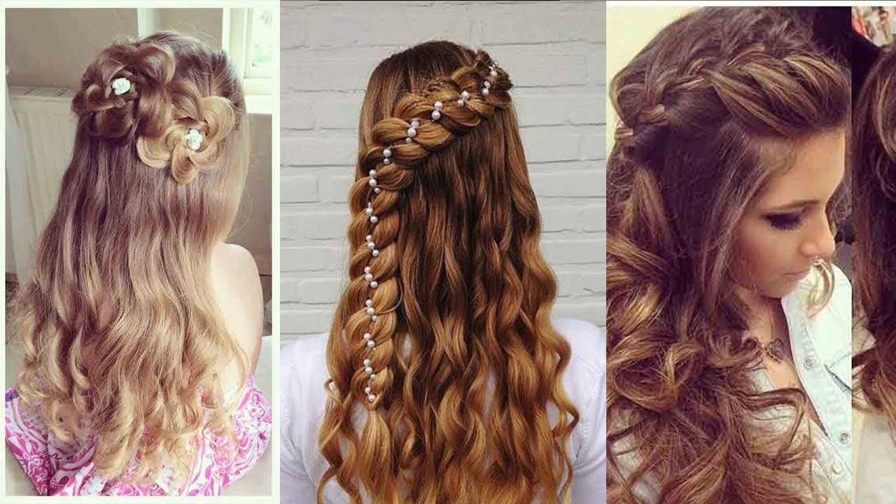 Best Hair Style For Girls Hd Images New Popular Hairstyle In 2020 Easy Hairstyles Hair Styles Medium Hair Styles