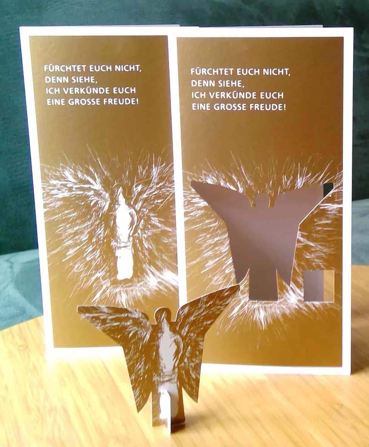goldene weihnachtsgr e verschicken kirche material. Black Bedroom Furniture Sets. Home Design Ideas