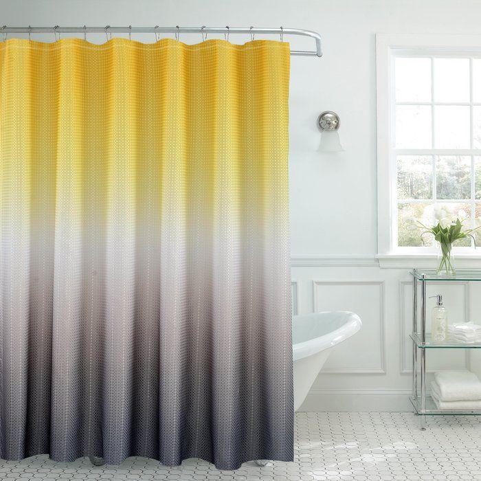 Bath Fusion Ombre Shower Curtain Amp Reviews Wayfair