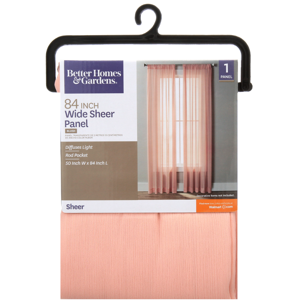 Better Homes And Gardens 84 Inch Sheer Window Panel