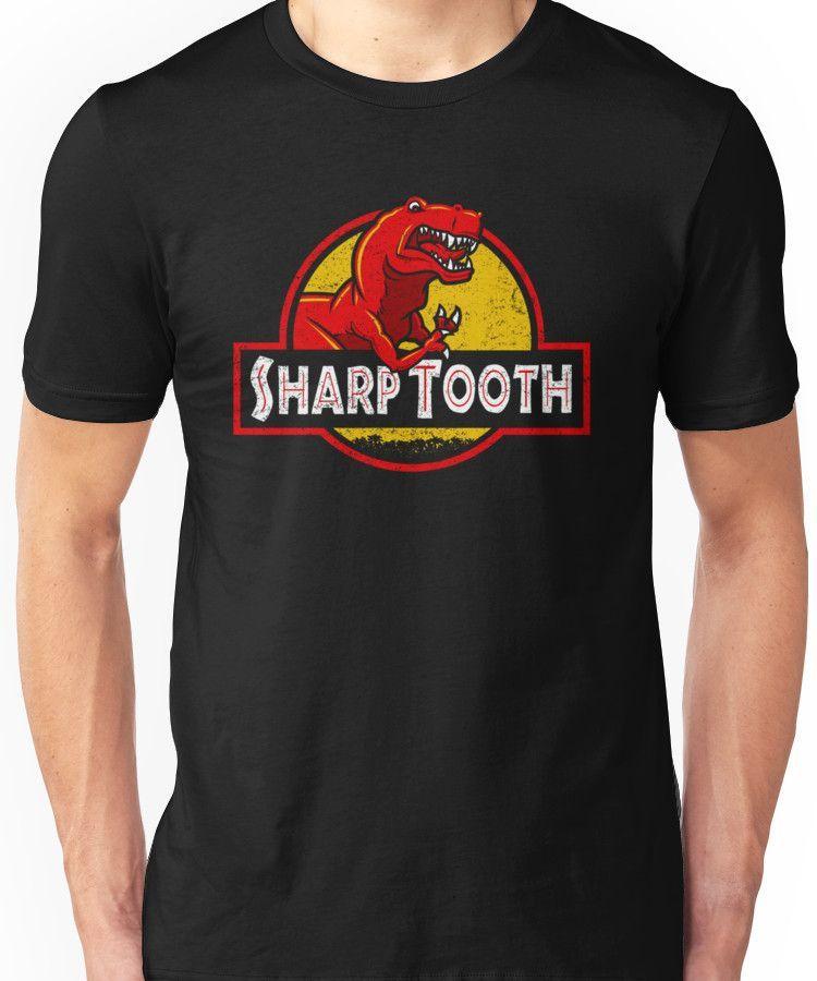 Sharp Tooth T-Shirt (Jurassic Park) | Slim Fit T-Shirt