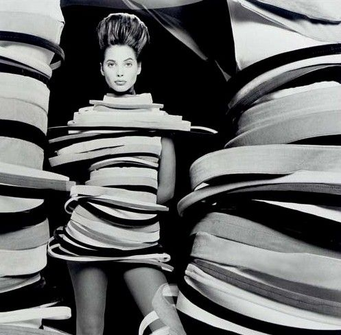 Ring Dress, circa 1989Photographer: Matthew RolstonModel: Christy Turlington
