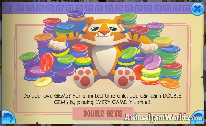 Animal Jam Double Gems, New Goat Animal & More! animal-jam-double ...