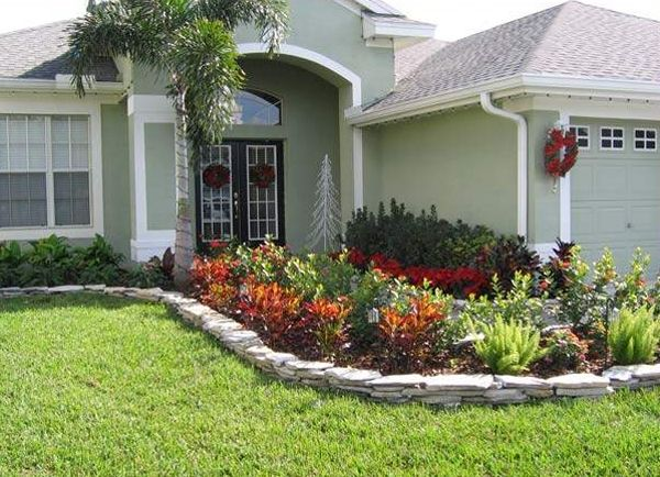 front landscape design ideas - Front Lawn Design Ideas