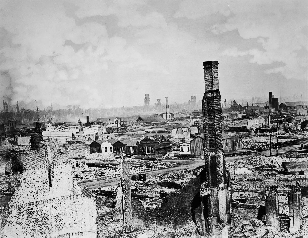 Chicago In Ruins The Unimaginable Aftermath Of The Great Fire Of