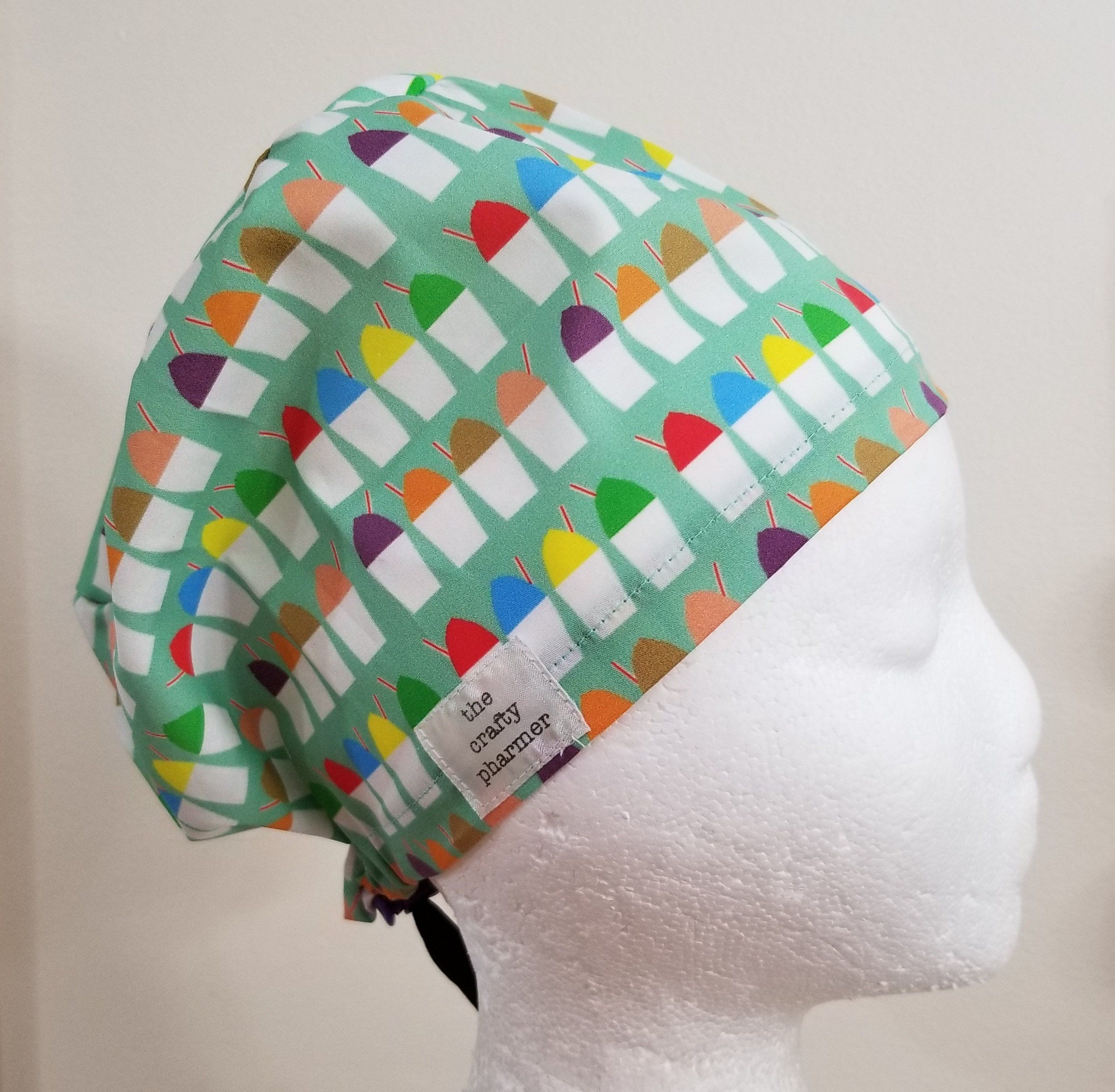 9e46f54c66b0e NOLA Sno Balls - Handmade Scrub Hats