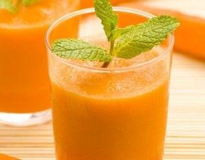 Succo di carote e lime